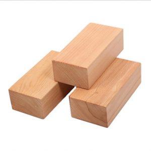 wooden yoga block
